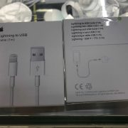 1M lightning to USB cable with green sticker副本